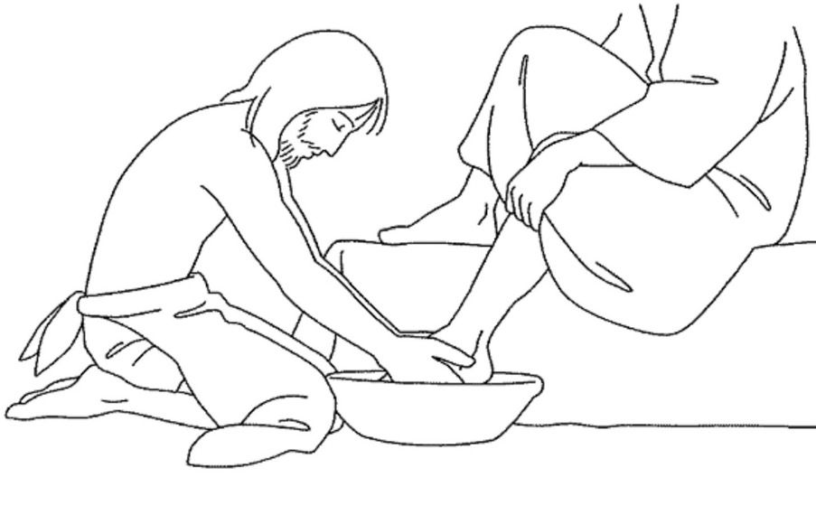 jesus washes the disciples feet coloring page jesus washes the disciples feet coloring page disciples page jesus coloring washes feet the