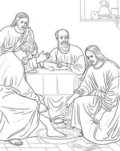 jesus washes the disciples feet coloring page jesus washing the disciples feet coloring page bible coloring the feet jesus disciples page washes