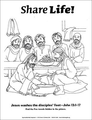 jesus washes the disciples feet coloring page jesus washing the disciples feet coloring page jesus coloring feet washes disciples jesus the page