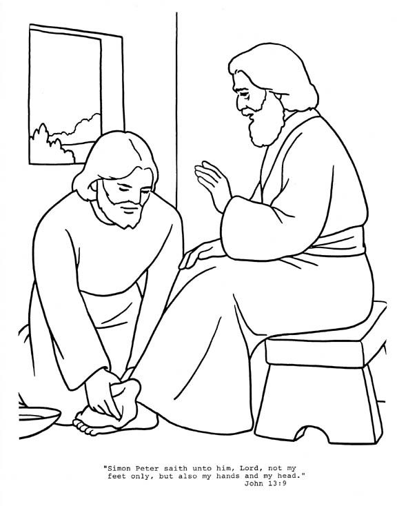 jesus washes the disciples feet coloring page kindness kindness jesus washing feet coloring pages the washes disciples feet page coloring jesus