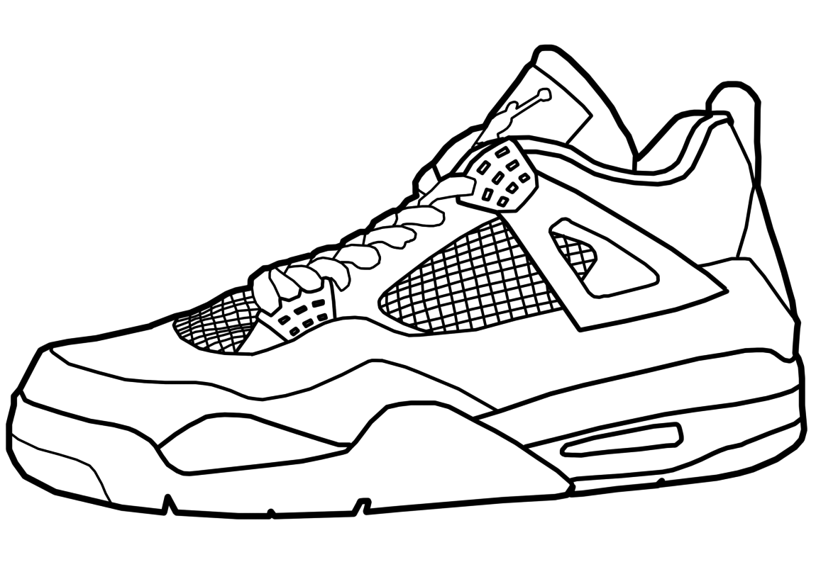 jordan sneaker coloring sheets air jordan shoes coloring pages to learn drawing outlines sneaker coloring jordan sheets