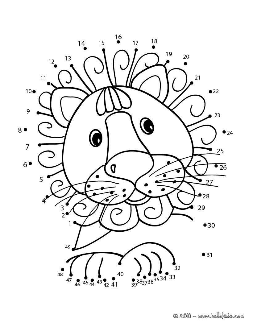 jungle animal dot to dot jungle coloring pages connect the dots by number free to jungle animal dot dot