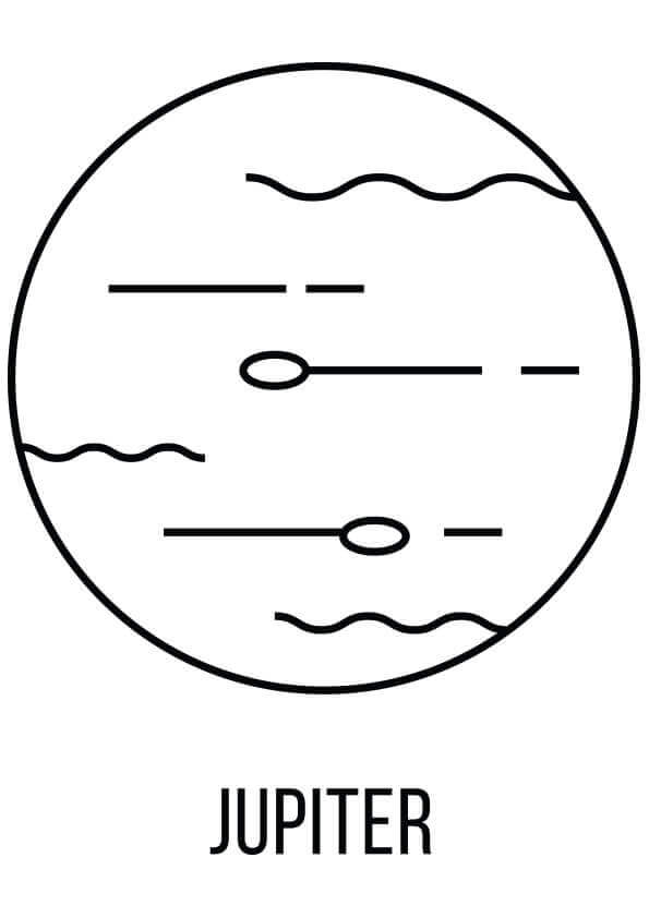 jupiter planet coloring page 25 free solar system coloring pages printable jupiter page coloring planet