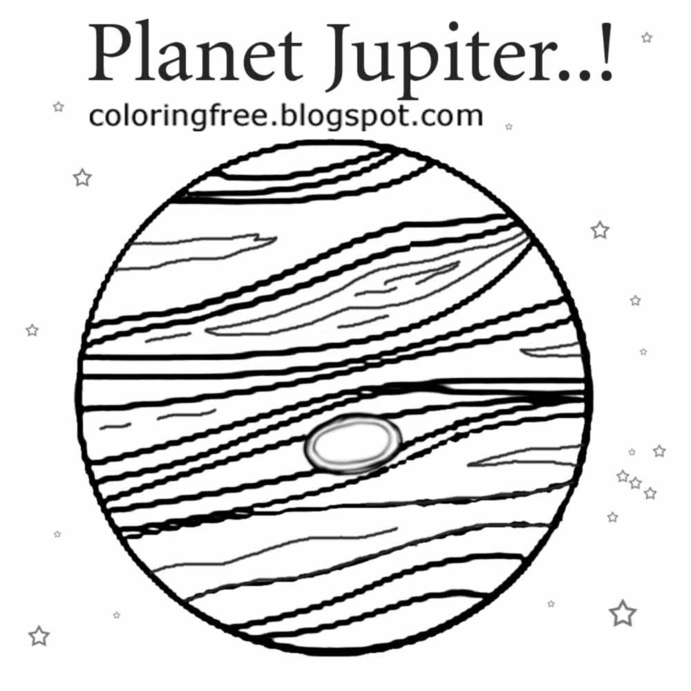 jupiter planet coloring page free coloring pages printable pictures to color kids coloring planet jupiter page