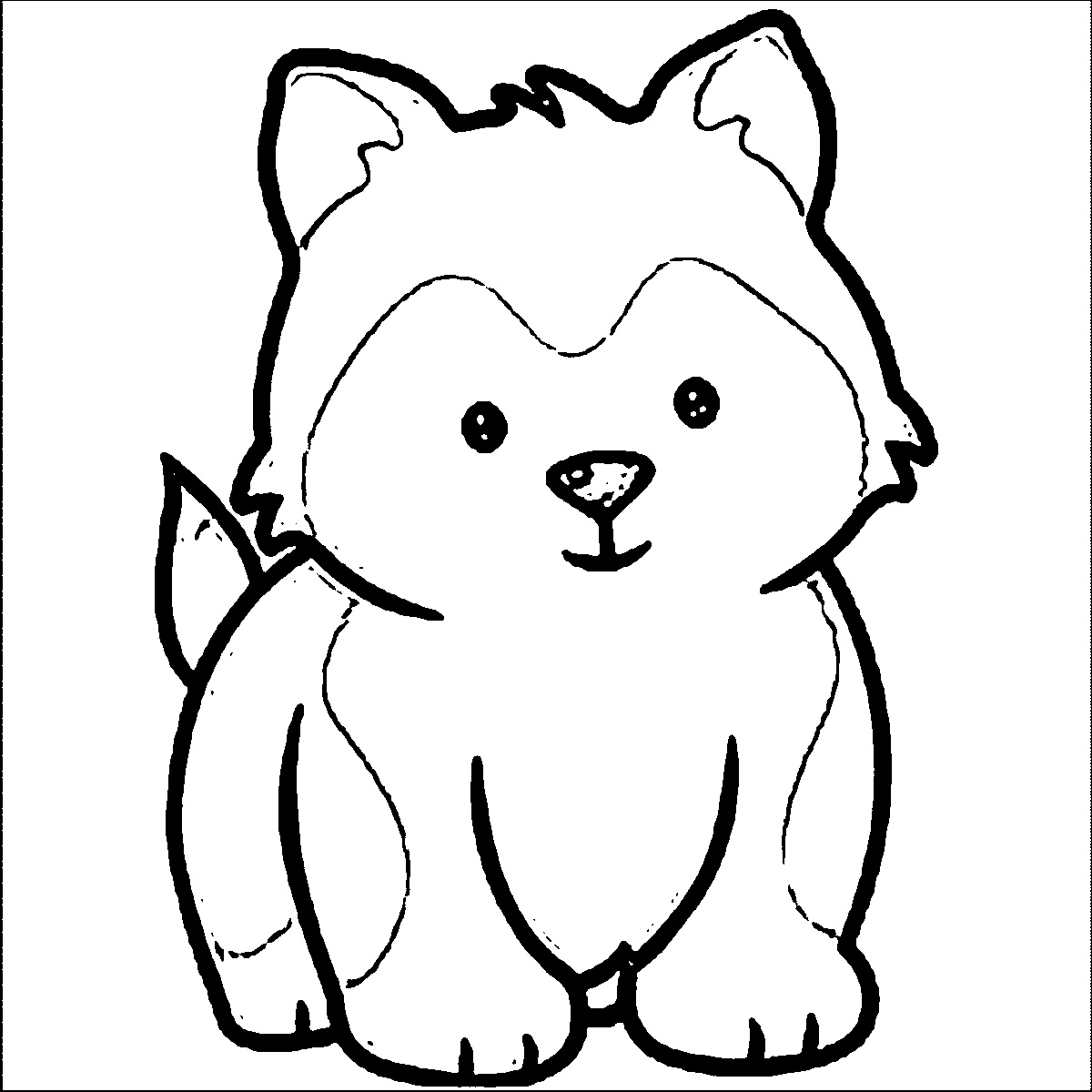 kawaii dog coloring pages free printable dogs and puppies coloring pages for kids kawaii pages dog coloring