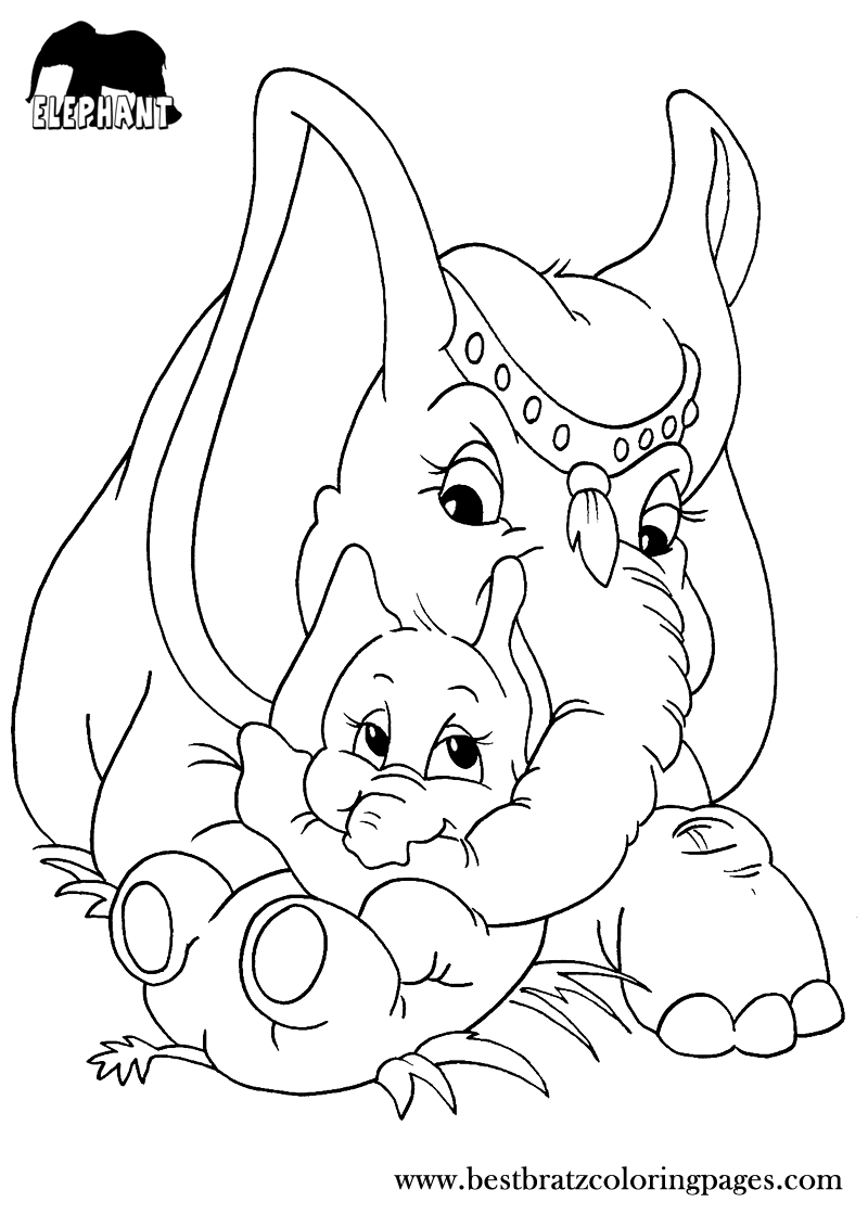 kid outline coloring page free printable elephant coloring pages for kids coloring outline kid coloring page