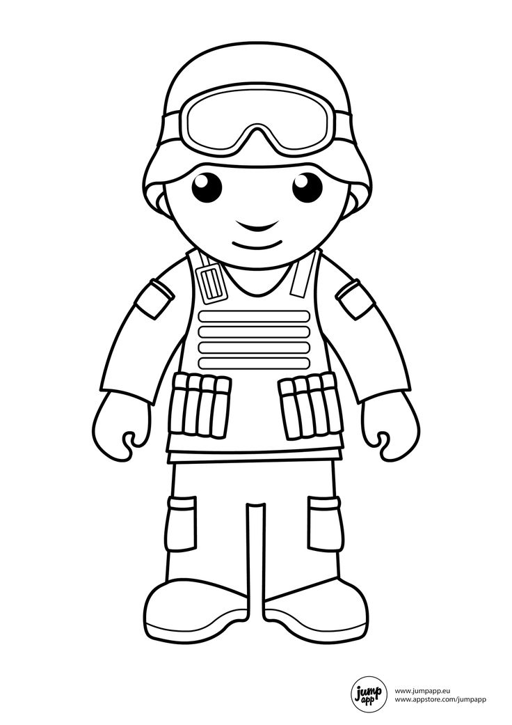 kid outline coloring page soldier coloring pages to download and print for free coloring kid outline page