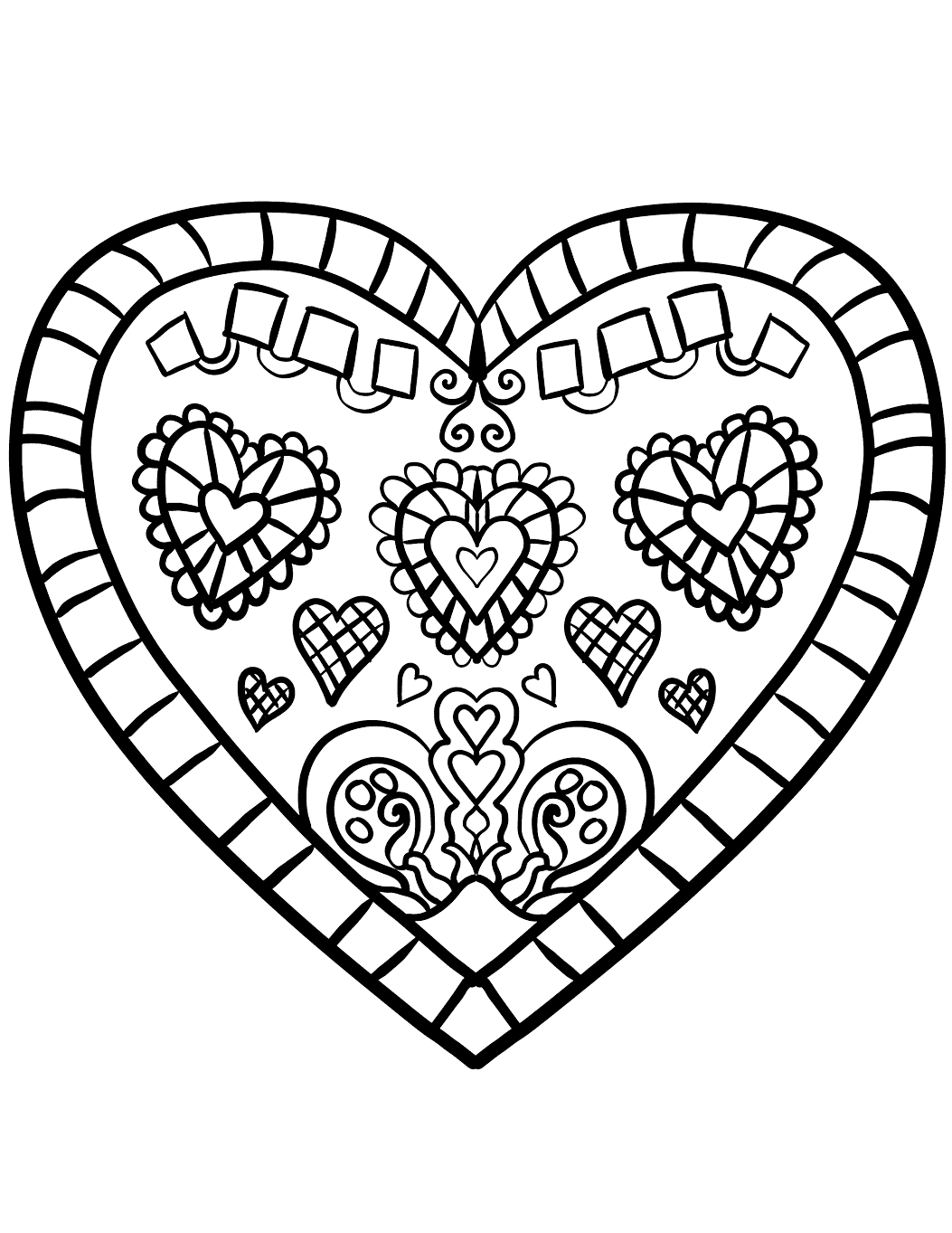kids heart coloring pages valentine coloring pages best coloring pages for kids coloring heart pages kids