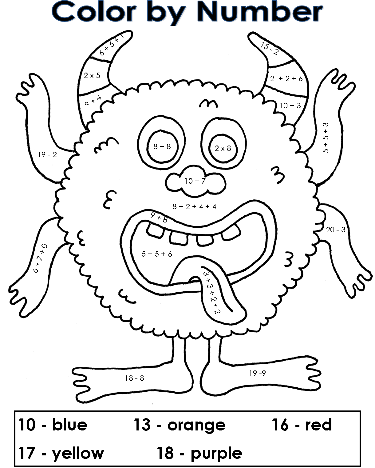 kids math coloring free printable math coloring pages for kids best coloring math kids