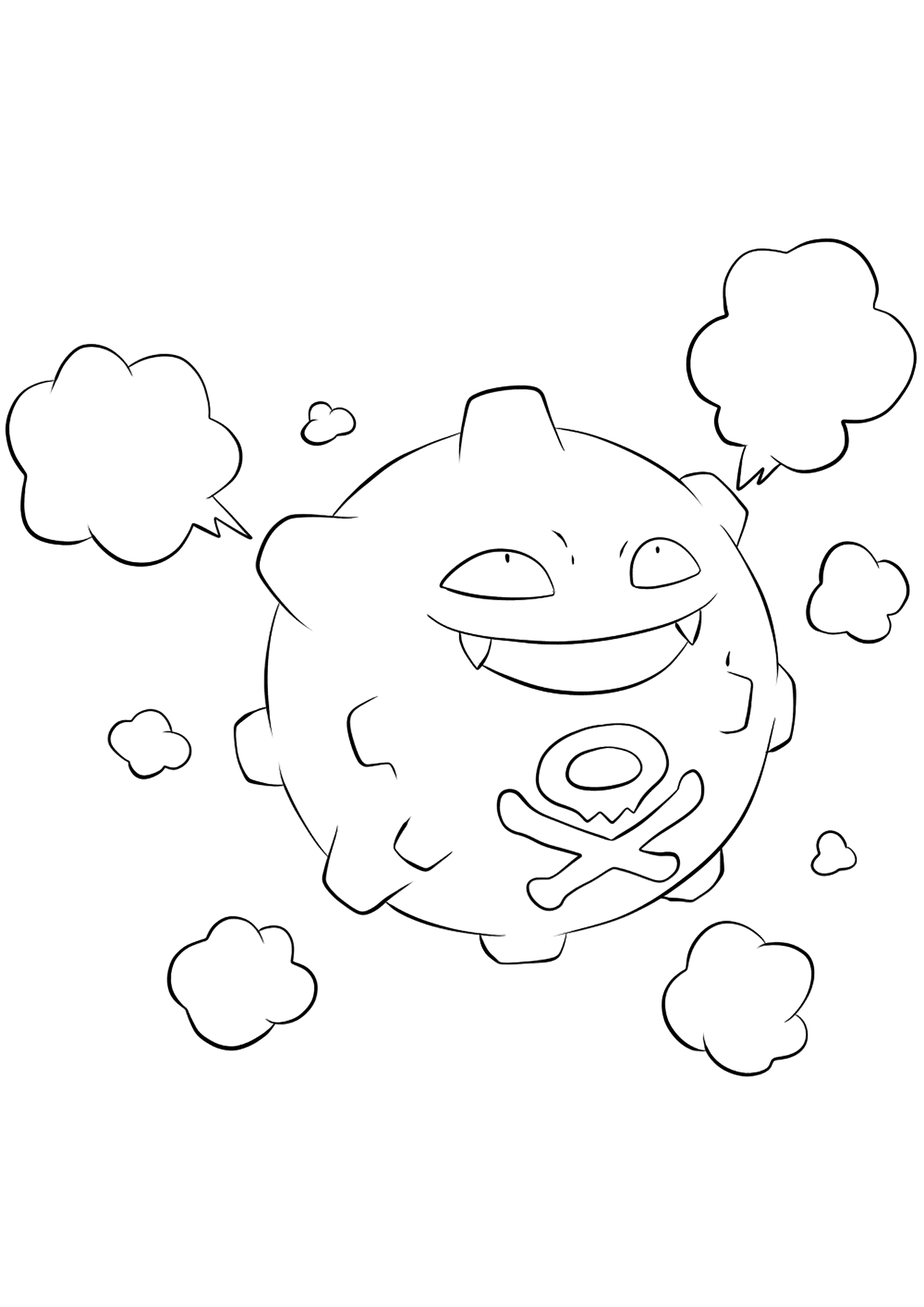 koffing pokemon coloring page koffing coloring page pokemon coloring koffing page