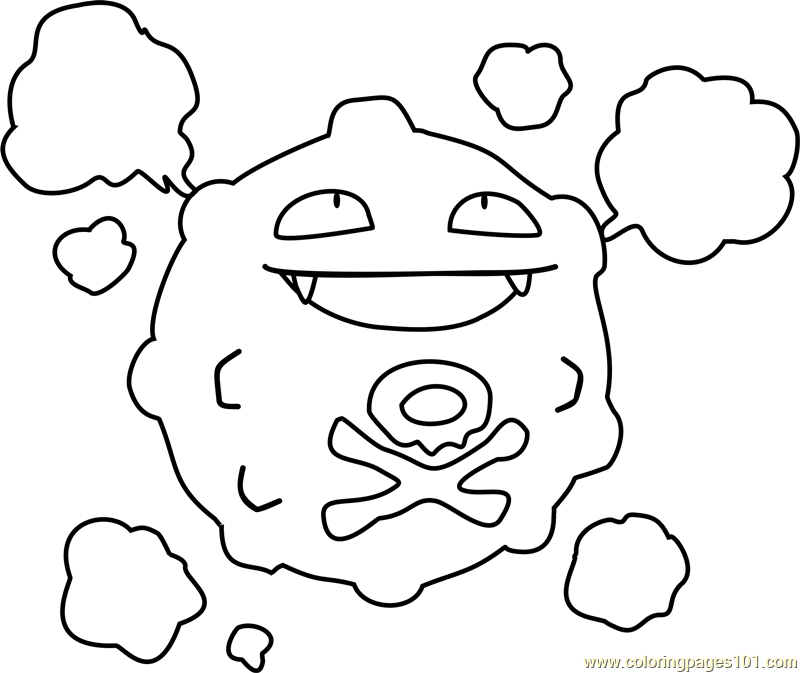 koffing pokemon coloring page koffing coloring pages hellokidscom koffing pokemon page coloring