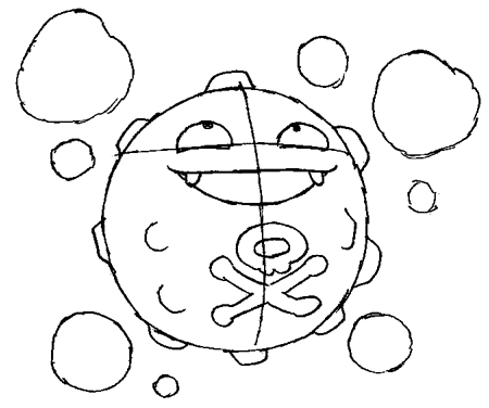 koffing pokemon coloring page pokemon koffing coloring pages for kids pokemon coloring koffing pokemon page