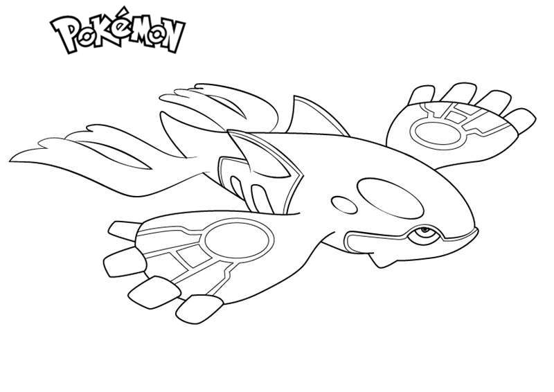 kyogre pokemon coloring pages kyogre from pokemon coloring pages free printable pages kyogre coloring pokemon