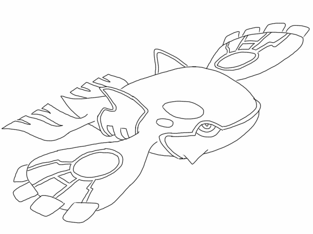 kyogre pokemon coloring pages kyogre lineart by kamoodle on deviantart with images coloring pages pokemon kyogre