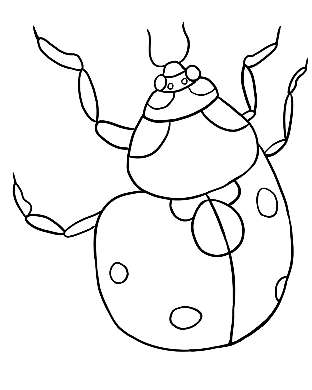 ladybug for coloring line art of cute ladybug with hearts free clip art for ladybug coloring