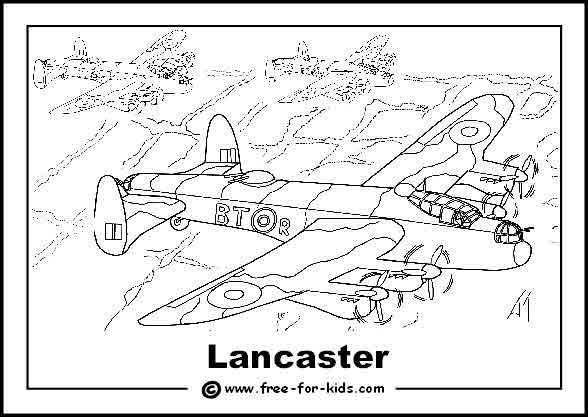 lancaster bomber colouring pages ww2 lancaster bomber sketch coloring page lancaster colouring bomber pages