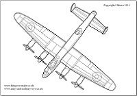 lancaster bomber colouring pages ww2 plane drawing at getdrawings free download pages bomber lancaster colouring