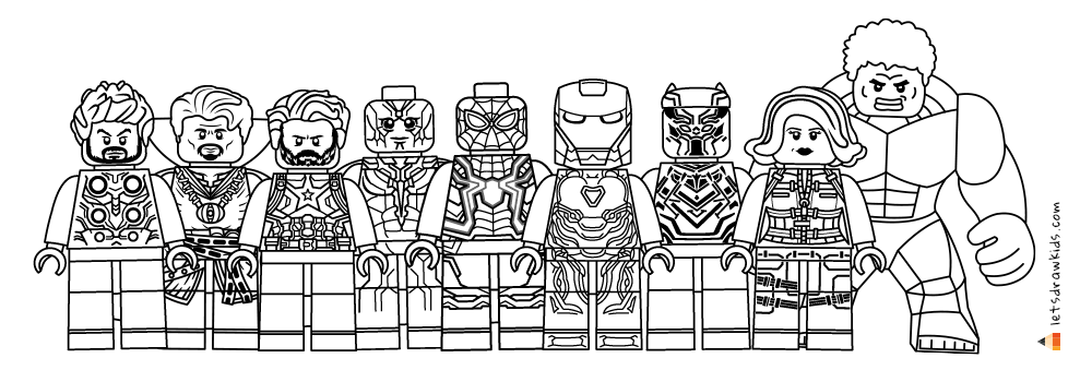 lego avengers coloring lego coloring pages coloringrocks lego coloring avengers