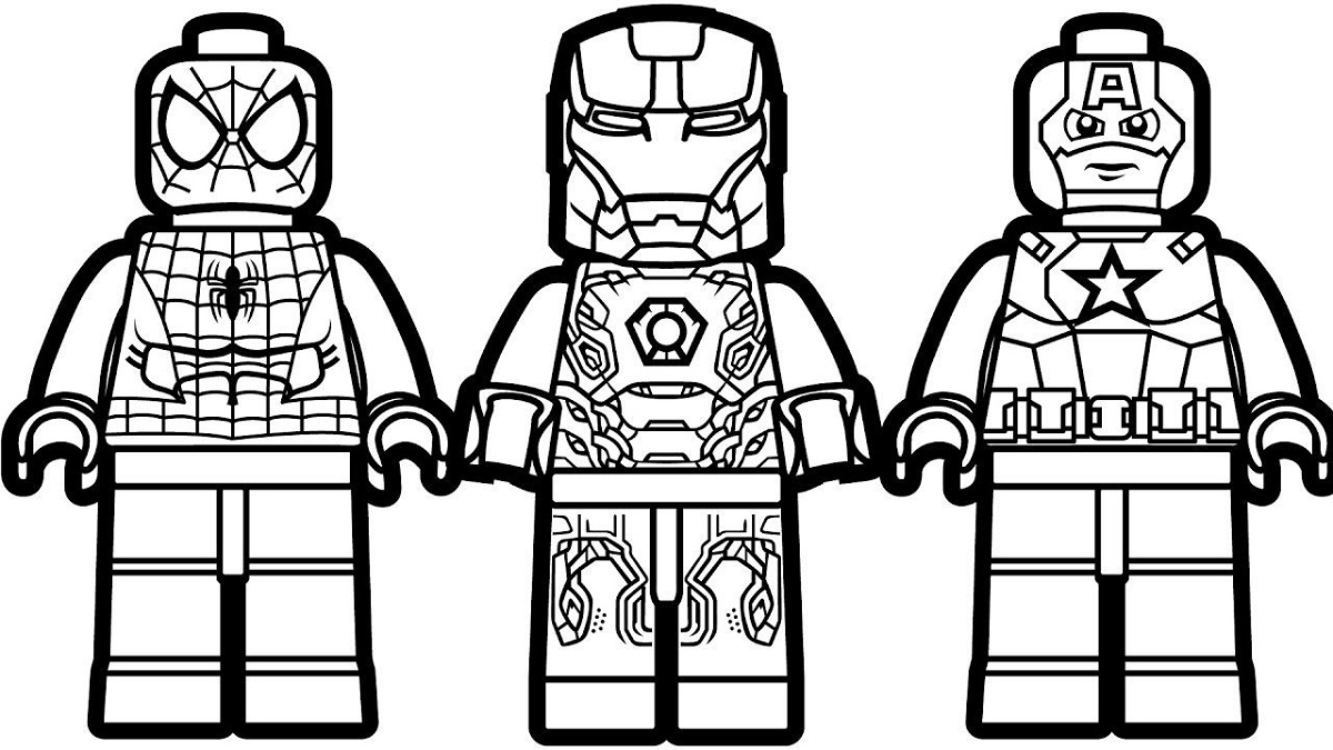 lego avengers coloring pages printable lego avengers coloring pages coloringrocks pages avengers printable lego coloring