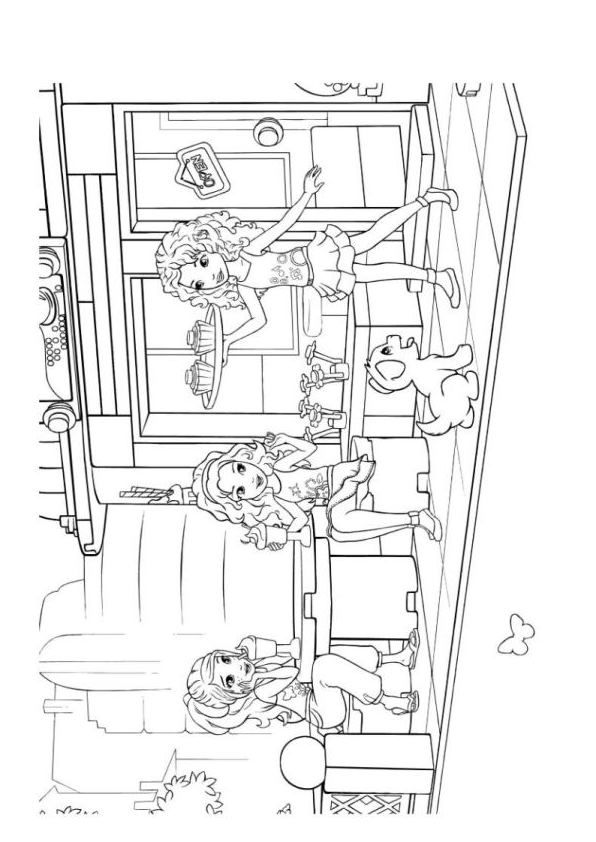 lego friends coloring pages 2020 レゴフレンズぬりえ 映画やテレビ番組 六月 2020 2020 friends pages lego coloring
