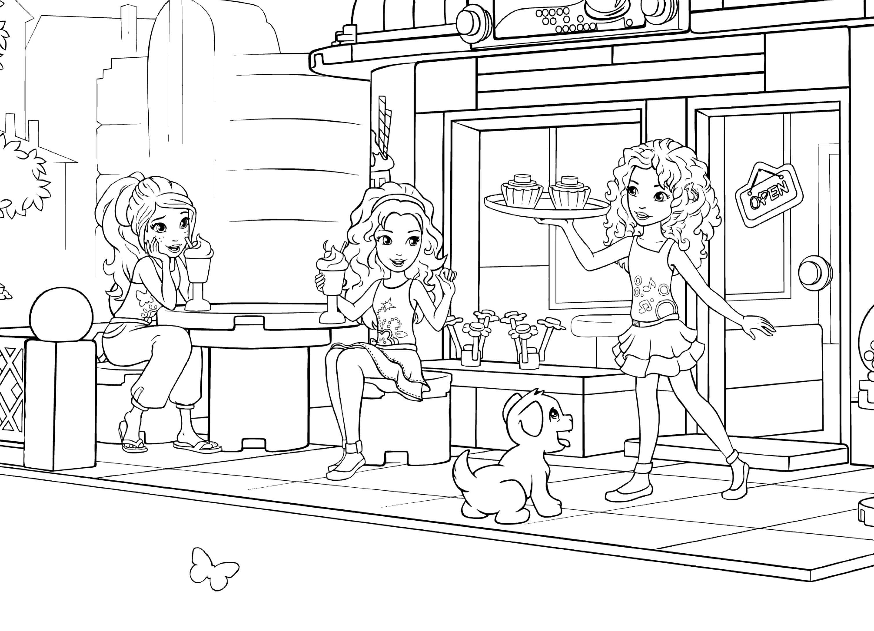 lego friends coloring pages 2020 lego friends coloring pages coloringrocks in 2020 2020 pages friends coloring lego