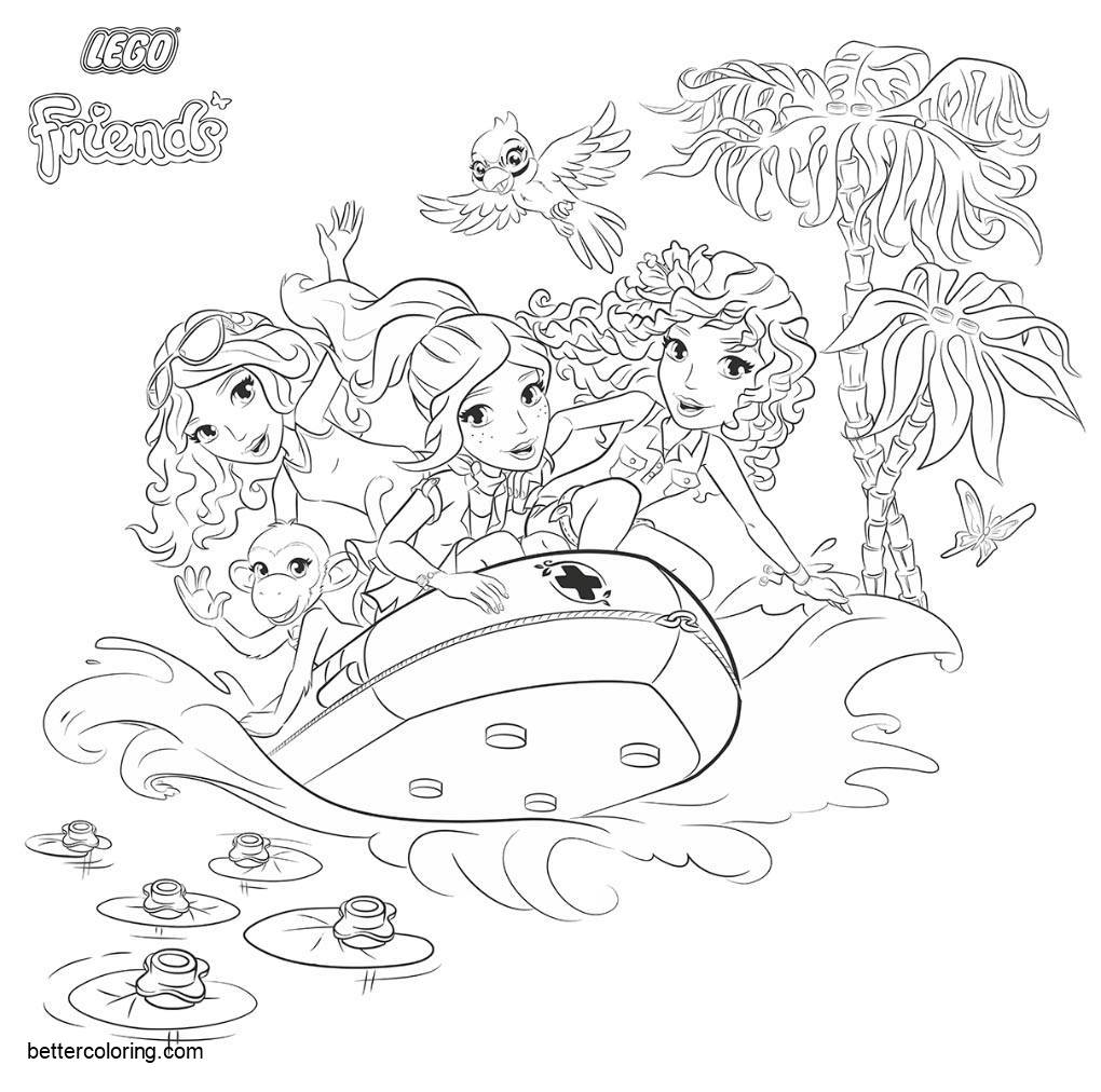 lego friends coloring pages 2020 lego friends coloring pages free printable lego friends coloring lego pages friends 2020