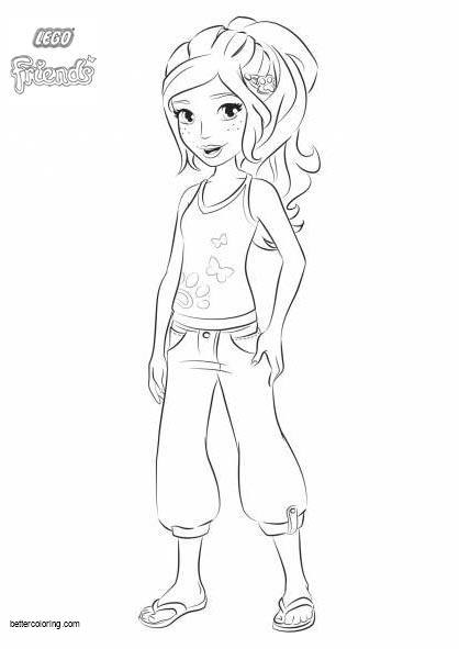 lego friends coloring pages 2020 lego friends coloring pages free printable lego friends friends 2020 coloring lego pages