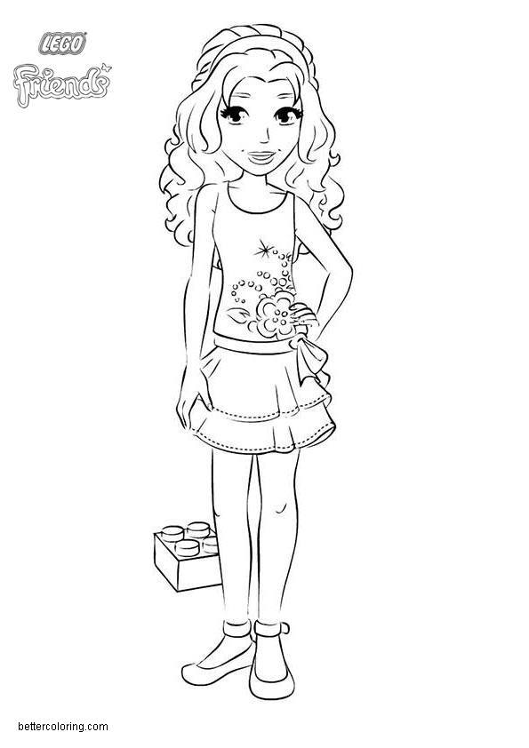lego friends coloring pages 2020 lego friends mia coloring page wesharepics coloring home lego coloring 2020 pages friends