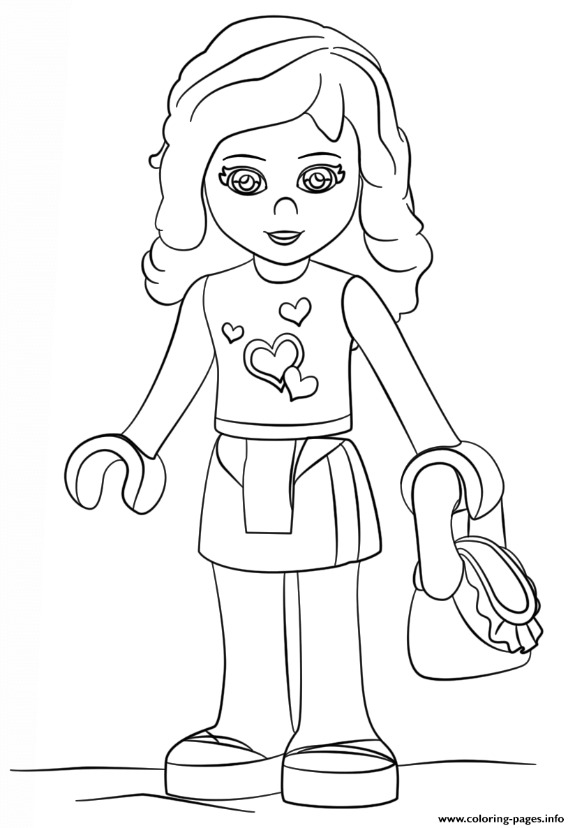 lego girl coloring 25 ideas for lego girls coloring pages home family lego coloring girl