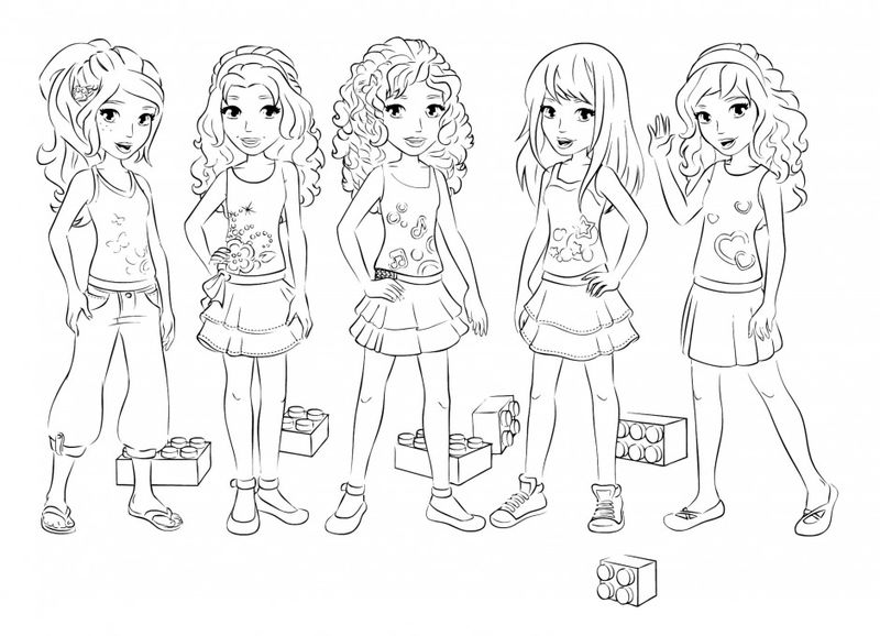 lego girl coloring lego friends girls coloring page coloring sheets girl lego coloring