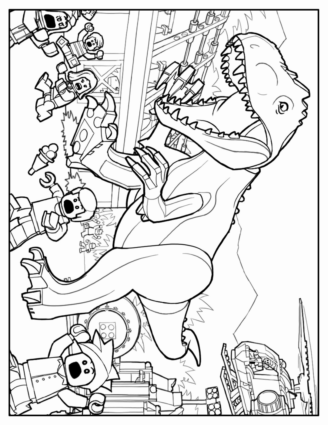 lego jurassic park coloring pages lego jurassic world coloring pages at getcoloringscom jurassic pages park coloring lego