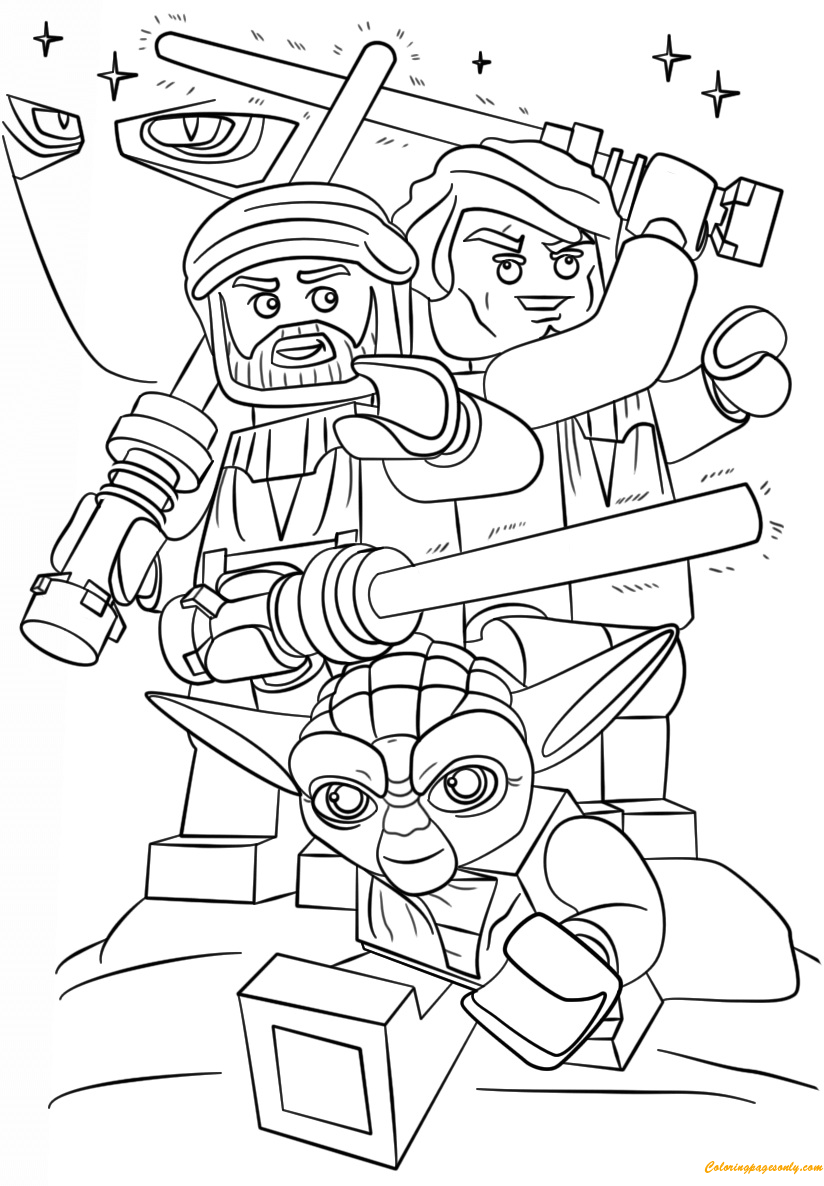 lego star wars coloring pages to print lego battle droid coloring page from lego star wars pages wars star coloring lego print to