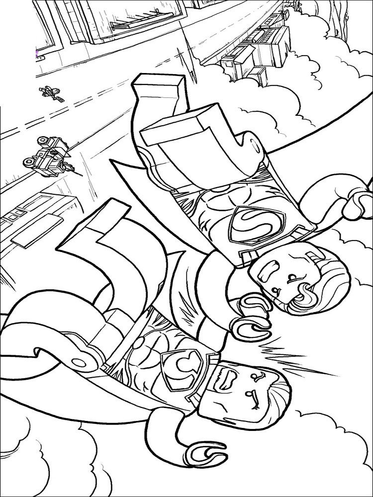 lego superman lego superman coloring pages free printable ant man superman lego