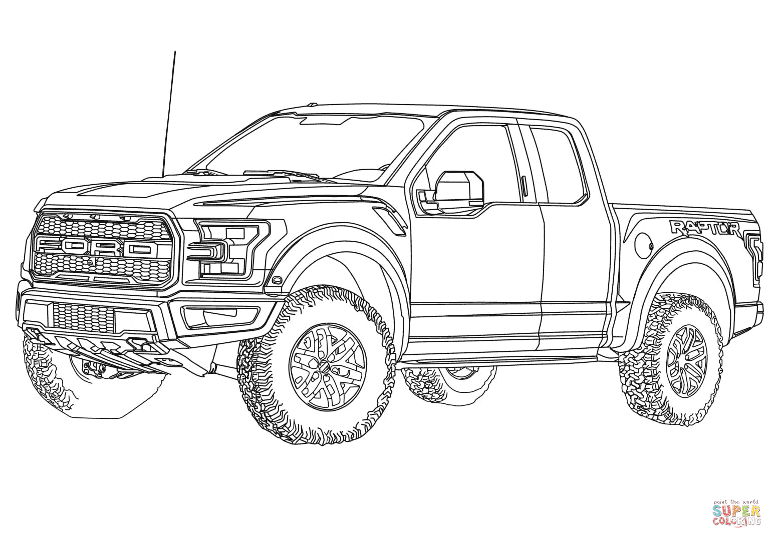 lifted ford truck coloring pages 2017 ford f 150 raptor coloring page free printable lifted ford truck coloring pages