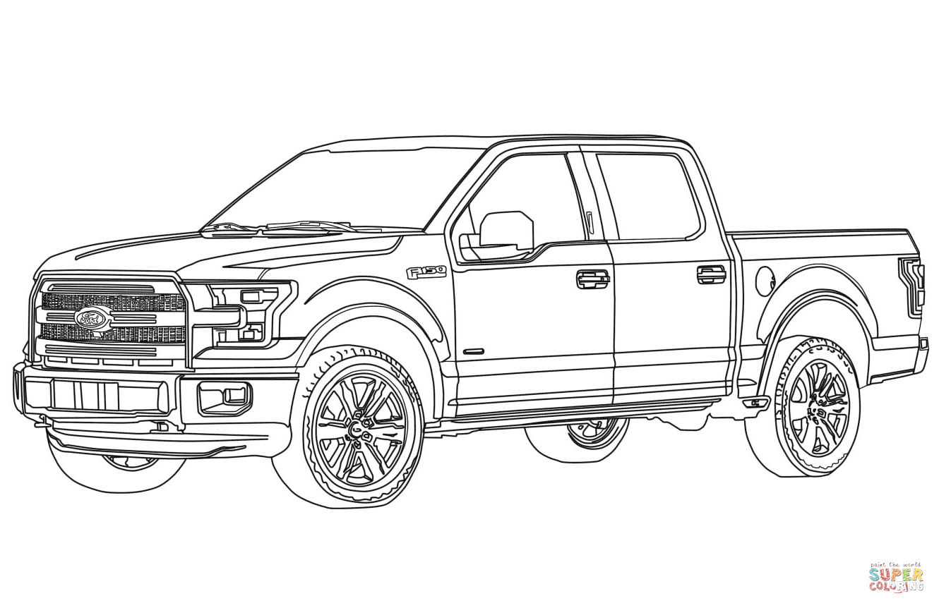 lifted ford truck coloring pages ford coloring pages in 2020 truck coloring pages ford coloring ford truck pages lifted