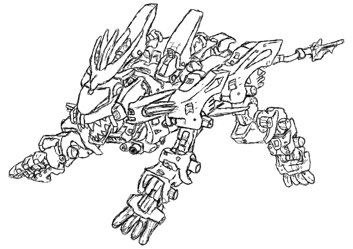 liger coloring pages liger zero sketch 3 by deaths anti venom on deviantart coloring pages liger