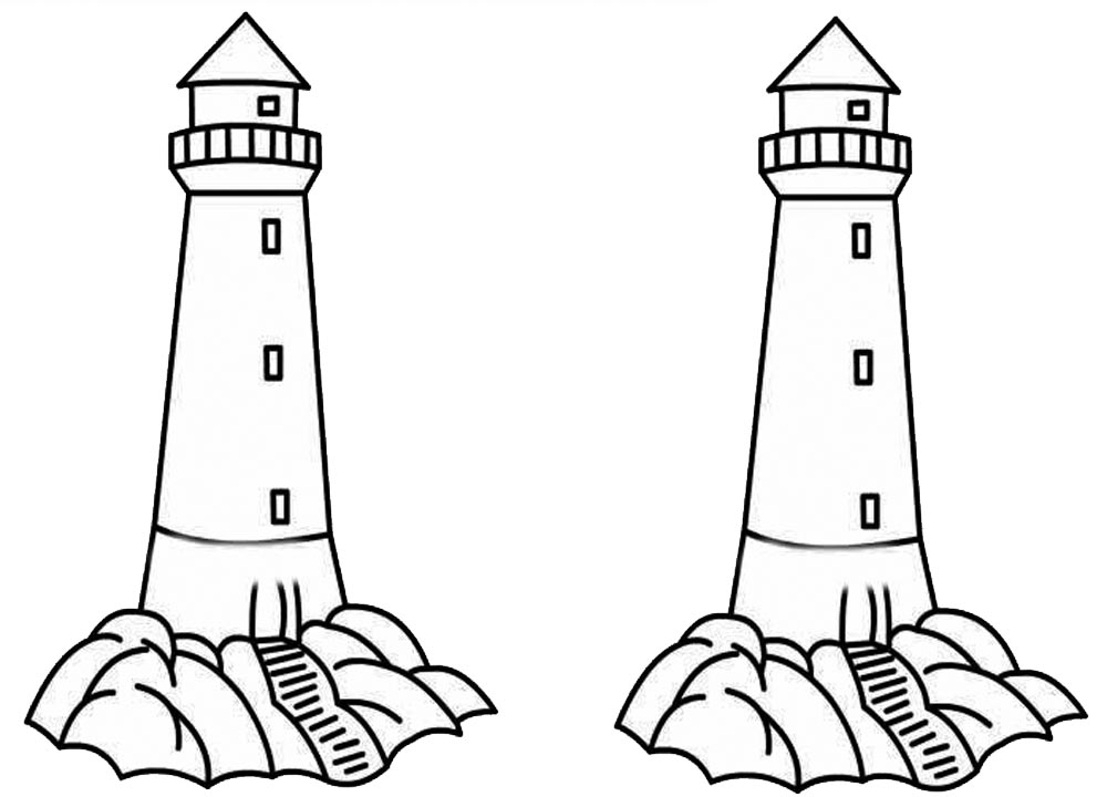 lighthouse coloring page free printable lighthouse coloring pages for kids coloring lighthouse page