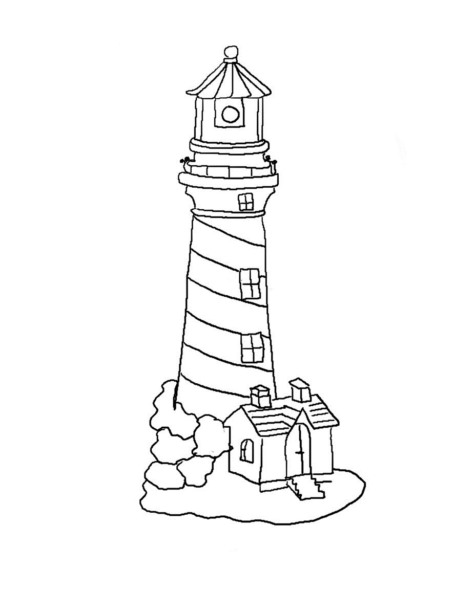 lighthouse coloring page free printable lighthouse coloring pages for kids coloring page lighthouse