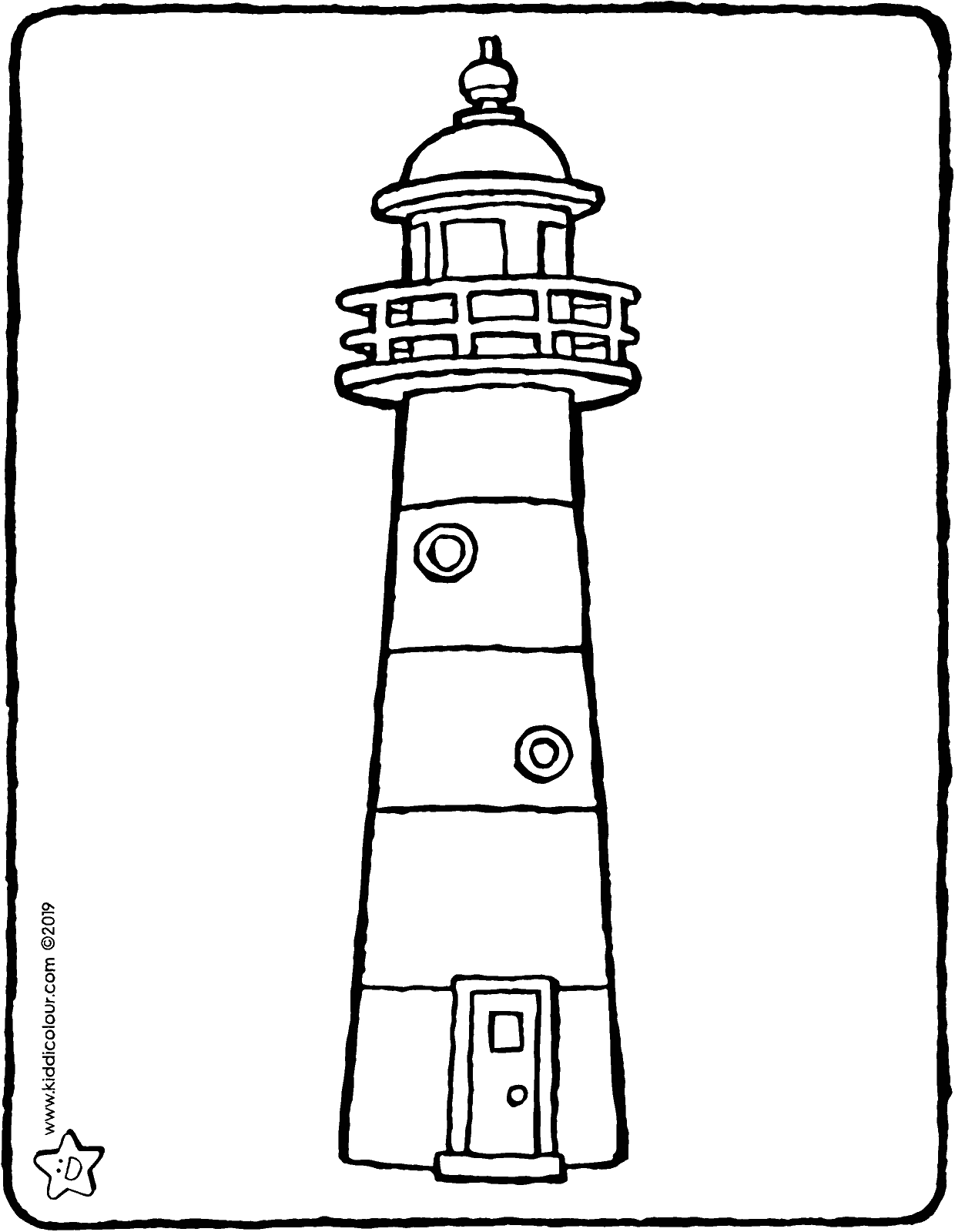 lighthouse coloring page free printable lighthouse coloring pages for kids lighthouse page coloring