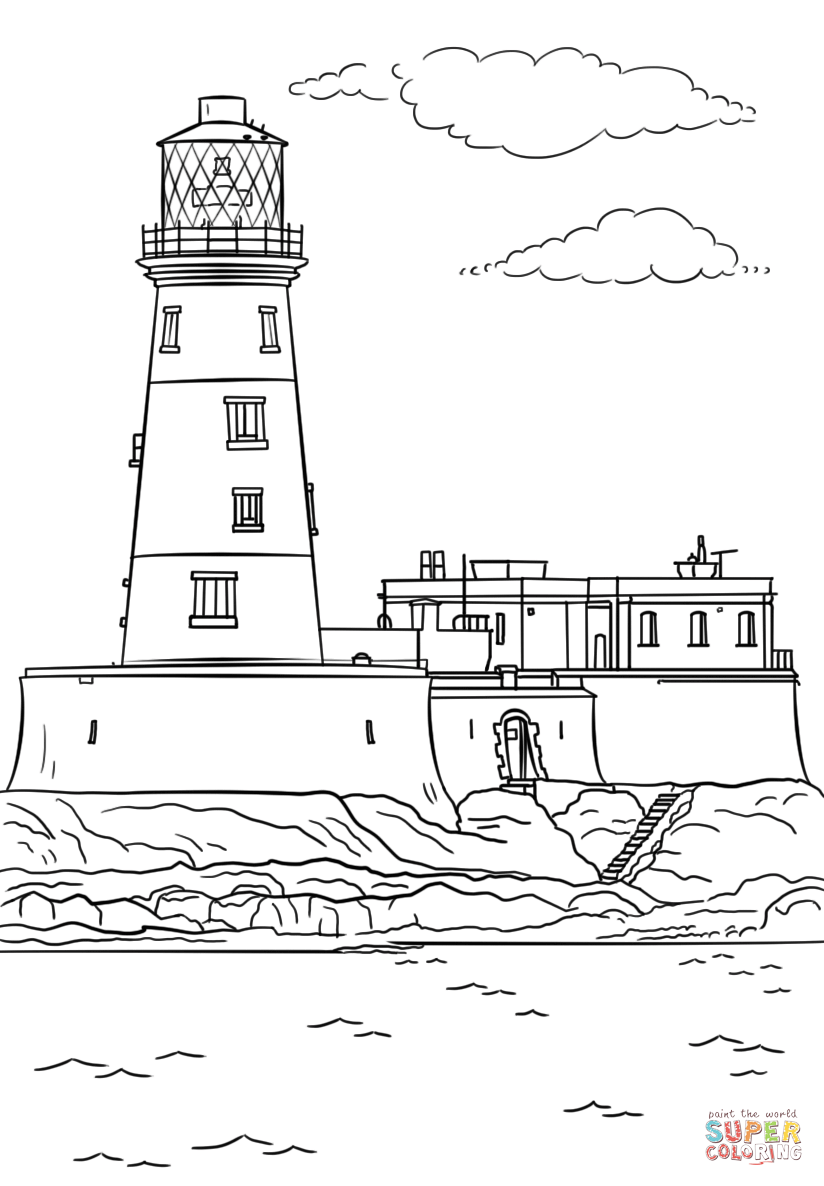 lighthouse coloring page lighthouse coloring page free printable coloring pages coloring lighthouse page