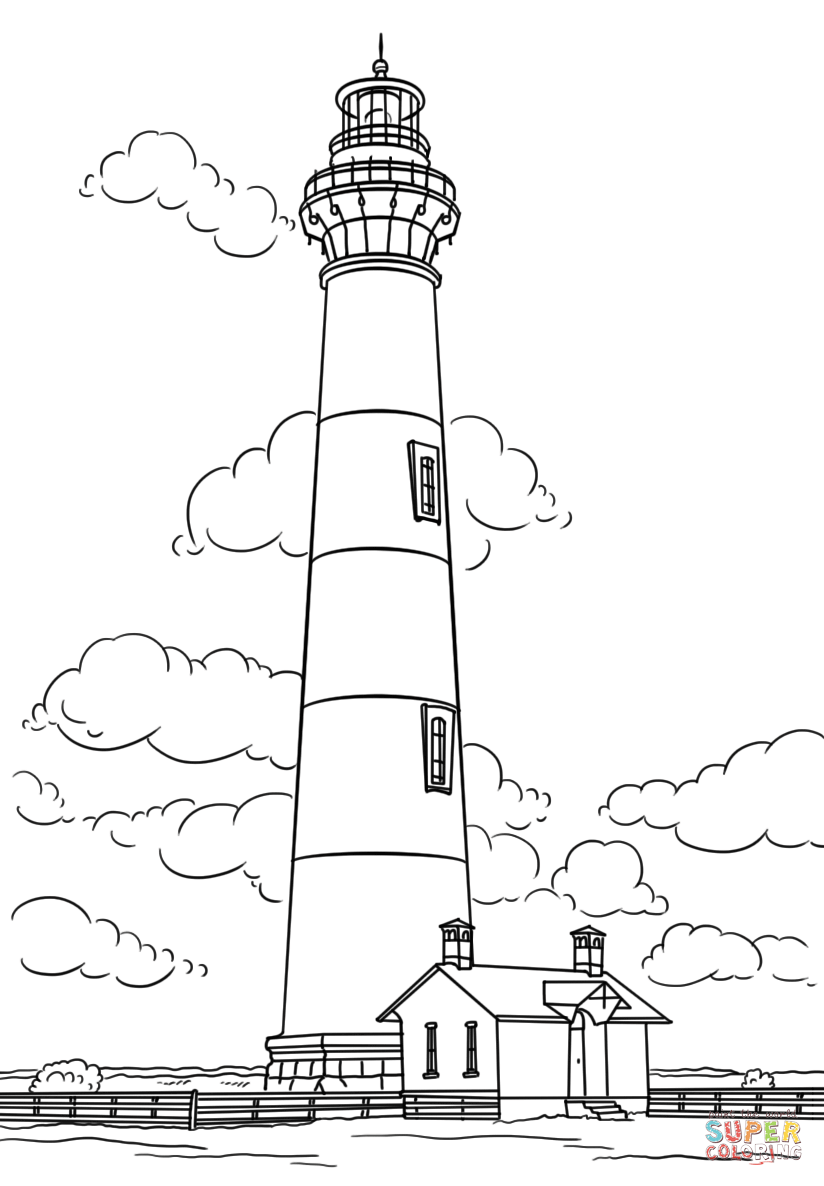 lighthouse coloring page lighthouse coloring pages for adults coloring home lighthouse page coloring