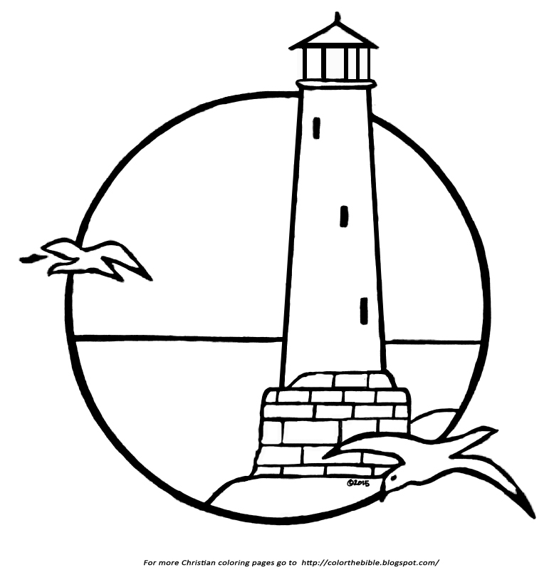 lighthouse coloring page printable coloring pages of lighthouses coloring home lighthouse coloring page