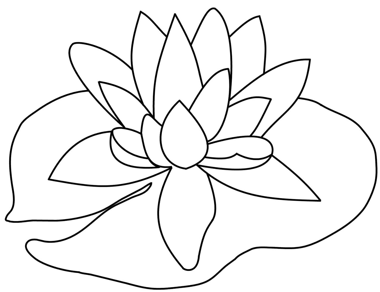 lily pad coloring printable lily pad coloring pages for kids cool2bkids pad lily coloring