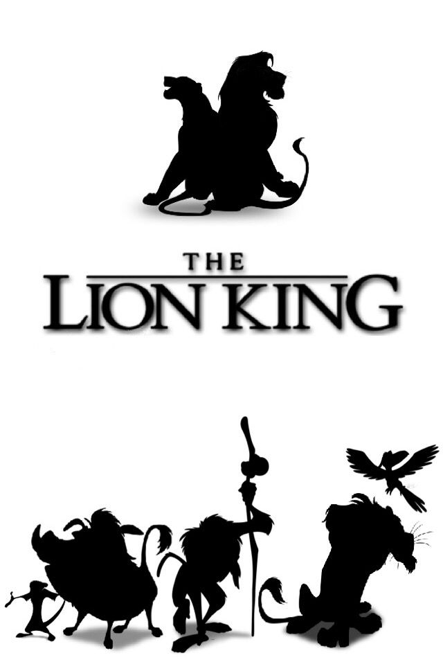 lion king silhouette quotlion king silhouettequot t shirt by upbeat redbubble lion king silhouette
