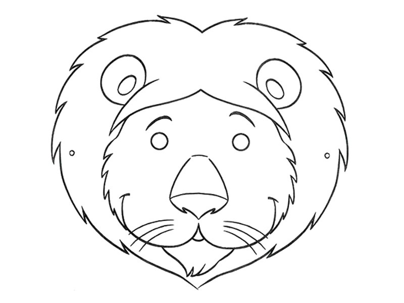 lion mask coloring page fun printable coloring masks coloring page mask lion