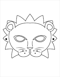 lion mask coloring page image result for lion mask templates lion mask coloring mask coloring lion page