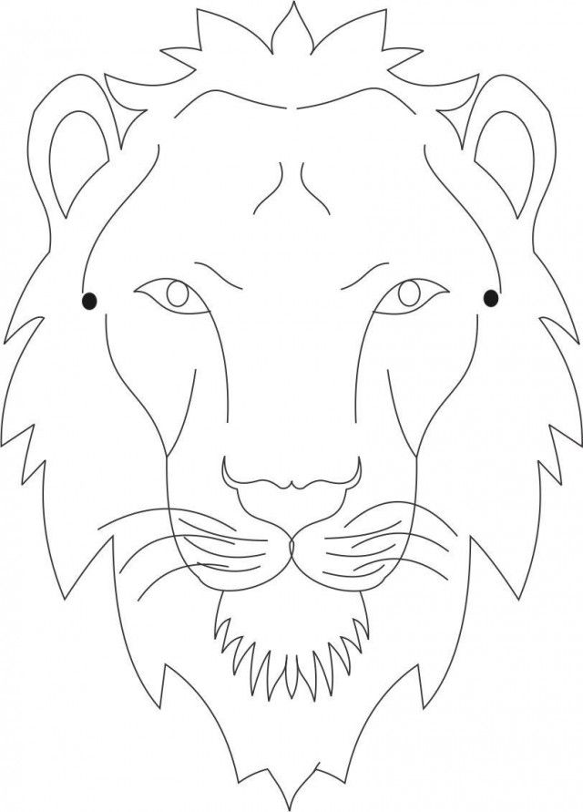 lion mask coloring page lion mask coloring page download printable coloring pages mask page lion coloring