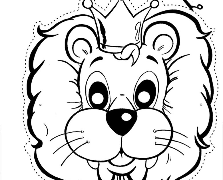 lion mask coloring page lion mask free coloring pages coloring pages coloring page lion mask