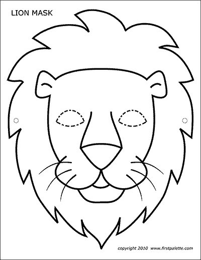 lion mask coloring page lion mask free printable templates coloring pages coloring page lion mask