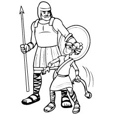 little bible heroes coloring pages for sunday schoolfree kids crafts bible stories coloring heroes bible little pages